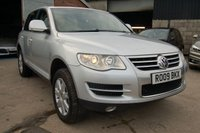 USED 2009 09 VOLKSWAGEN TOUAREG 3.0 V6 SE TDI 5d 240 BHP 2009 VW VOLKSWAGEN TOUAREG 3.0 V6 SE TDI 5 DOOR 240 BHP DIESEL HEATED LEATHER SEATS TOW BAR CRUISE & CLIMATE CONTROL. WARRANTY & FINANCE AVAILABLE
