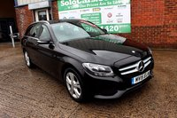 USED 2015 15 MERCEDES-BENZ C CLASS 1.6 C200 BLUETEC SE EXECUTIVE 5d 136 BHP +ONE OWNER +SAT NAV +LEATHER.