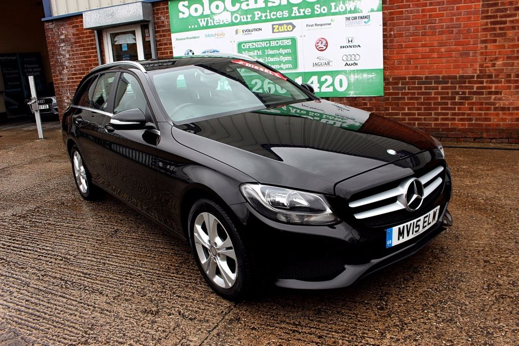 2015 15 MERCEDES-BENZ C CLASS 1.6 C200 BLUETEC SE EXECUTIVE 5d 136 BHP