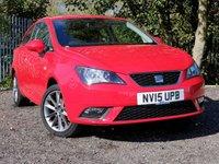 2015 SEAT IBIZA 1.2 TSI I-TECH 3d 104 BHP £6000.00