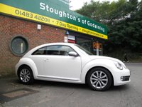 USED 2012 62 VOLKSWAGEN BEETLE 1.2 DESIGN TSI DSG 3d AUTO 103 BHP More Pictures To Follow. Please Ring For Details