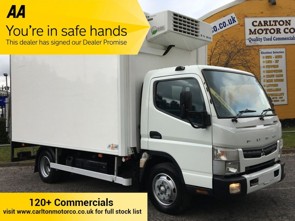 USED 2014 14 MITSUBISHI FUSO CANTER 7C18 Fridge Freezer Chiller Box Van +T/Lift  [ Low Mileage ]