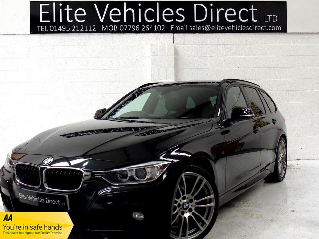 USED 2014 14 BMW 3 SERIES 2.0 320D M SPORT TOURING 5d AUTO 181 BHP