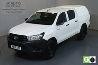USED 2017 17 TOYOTA HI-LUX 2.4 ACTIVE 4WD D-4D DCB 148 BHP EURO 6 ENGINE AIR CON, VOICE CONTROL, ECO MODE, HEATED SCREEN