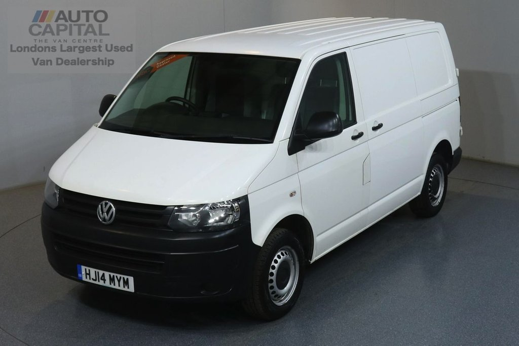 USED 2014 14 VOLKSWAGEN TRANSPORTER 2.0 T32 TDI STARTLINE 102 BHP SWB ONE OWNER FROM NEW