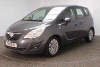 USED 2011 11 VAUXHALL MERIVA 1.2 EXCITE CDTI 5DR 74 BHP FULL SERVICE HISTORY + CRUISE CONTROL + AIR CONDITIONING + MULTI FUNCTION WHEEL + RADIO/CD/USB + ELECTRIC WINDOWS + ELECTRIC MIRRORS + 16 INCH ALLOY WHEELS