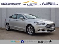 USED 2016 16 FORD MONDEO 2.0 ZETEC ECONETIC TDCI 5d 148 BHP One Owner Full Service History Buy Now, Pay Later Finance!