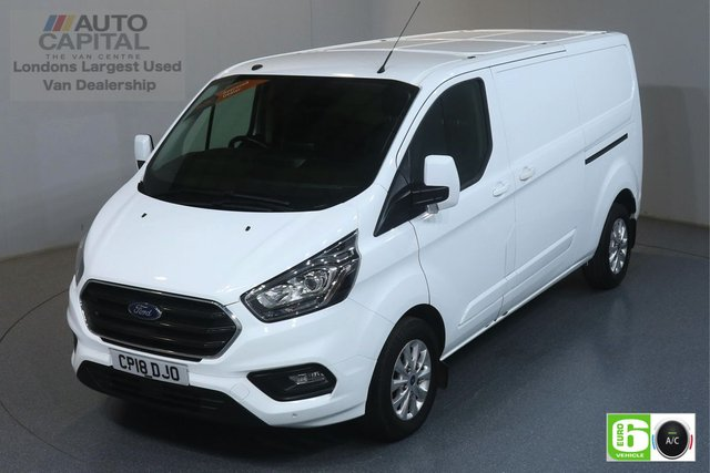 2018 18 FORD TRANSIT CUSTOM 2.0 300 LIMITED L2 H1 AUTO 129 BHP EURO 6 ENGINE AUTO, AIR CON, FRONT-REAR SENSORS, HEATED FRONT SEATS
