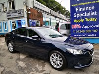 USED 2016 16 MAZDA 6 2.0 SE-L NAV 4d 143 BHP, only 26000 miles ***APPROVED DEALER FOR CAR FINANCE247 AND ZUTO ***