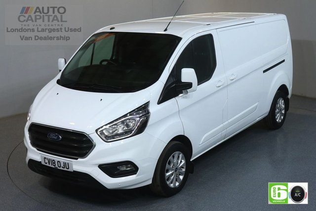2018 18 FORD TRANSIT CUSTOM 2.0 300 LIMITED L2 H1 129 BHP EURO 6 ENGINE AIR CON, F-R PARKING SENSORS, ALLOY WHEEL, HEATED FRONT SEATS