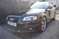 2012 AUDI A3 1.8 TFSI S LINE SPECIAL EDITION 3d 158 BHP £9899.00