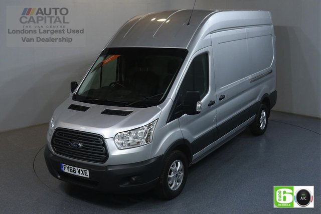 2018 68 FORD TRANSIT 2.0 350 TREND L3 H3 129 BHP EURO 6 ENGINE AIR CON, FRONT- REAR PARKING SENSORS, ALLOY WHEEL