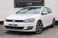 USED 2014 63 VOLKSWAGEN GOLF 2.0 GT TDI BLUEMOTION TECHNOLOGY 3d 148 BHP
