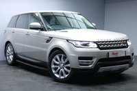 "USED 2014 14 LAND ROVER RANGE ROVER SPORT 3.0 SDV6 HSE 5d 288 BHP 20""ALLOYS+NAV+1 OWNER+FULL SERVICE HISTORY+LEATHER+REVERSE CAMERA+TERRAIN RESPONSE"