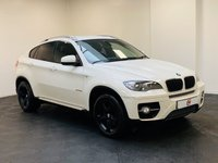 USED 2011 61 BMW X6 3.0 XDRIVE30D 4d AUTO 241 BHP FULL SERVICE HISTORY + PRIVACY GLASS + SAT NAV + BLACK LEATHER