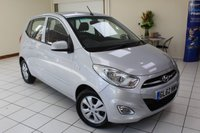 USED 2013 62 HYUNDAI I10 1.2 ACTIVE 5d 85 BHP SERVICE HISTORY (6 SERVICES) / NEW MOT / AIR CONDITIONING