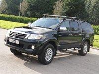 2011 TOYOTA HI-LUX 3.0 INVINCIBLE 4X4 D-4D DCB 169 BHP £12450.00