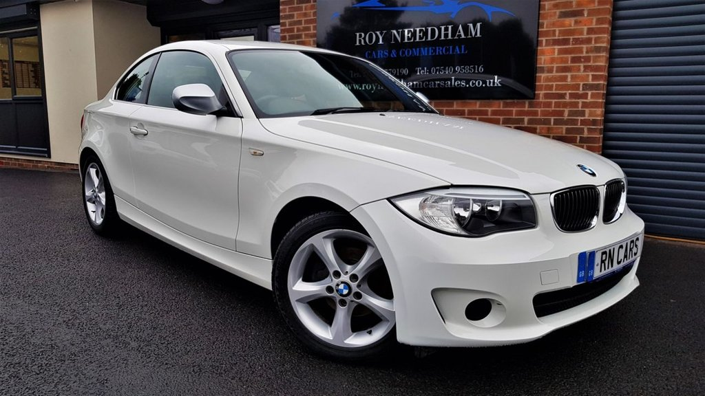 USED 2013 13 BMW 1 SERIES 2.0 118D EXCLUSIVE EDITION 2DR 141 BHP *** 2 OWNERS - LEATHER - LOW MILES - DAB ***