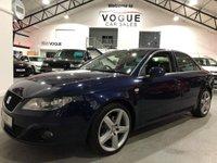 2010 SEAT EXEO 2.0 SPORT TECH CR TDI 4d 141 BHP £5995.00