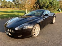USED 2007 ASTON MARTIN DB9 5.9 V12 2d AUTO 451 BHP LOW MILEAGE DB9 IN BLACK WITH CREAM LEATHER 28000 FSH INCLUDES PRIVATE PLATE