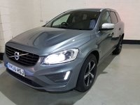 USED 2016 66 VOLVO XC60 2.4 D5 R-DESIGN LUX NAV AWD 5d AUTO 217 BHP 1 Owner/Volvo History/Sat-Nav/Heated Leather/Power Boot