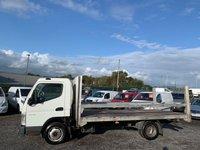 USED 2008 08 MITSUBISHI FUSO CANTER 3.0 35 LWB 3C13-34 14FT FLAT BED 3500KG 14FT FLAT BED, NO VAT, LWB, 3500KG, DRIVES EXCELLENT,