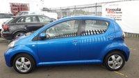 USED 2010 10 TOYOTA AYGO 1.0 VVT-i Blue Blue 5dr 1 YEARS MOT+LOW MILEAGE