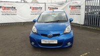 USED 2010 10 TOYOTA AYGO 1.0 VVT-i Blue Blue 5dr 1 YEARS MOT+LOW MILEAGE