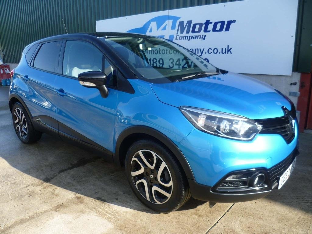 USED 2014 63 RENAULT CAPTUR 1.5 dCi ENERGY Dynamique S Nav (s/s) 5dr FULL RENAULT SERVICE  HISTORY