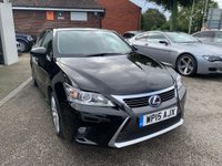 USED 2015 15 LEXUS CT 1.8 200h Advance CVT (s/s) 5dr FULL MAIN DEALER HISTORY