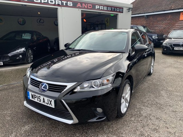 LEXUS CT at Euxton Sports and Prestige