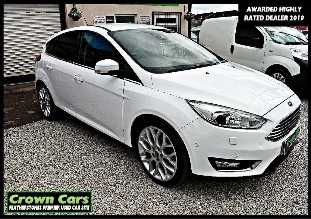 USED 2016 16 FORD FOCUS 1.5 TDCi Titanium X (s/s) 5dr 3 MONTHS WARRANTY & PDI CHECK