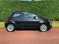USED 2017 17 FIAT 500 1.2 8V Lounge (s/s) 3dr 1 OWNER+LOW MILES+GLASS ROOF+