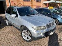 USED 2004 04 BMW X5 3.0 SPORT 24V 5d 228 BHP