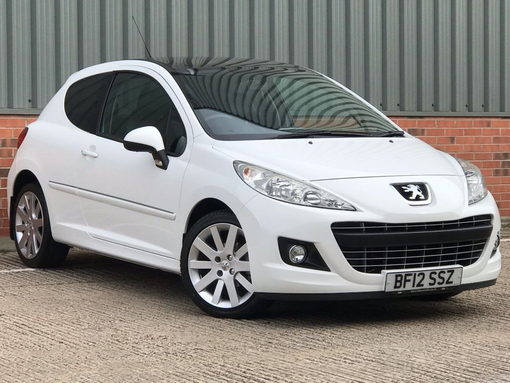 USED 2012 12 PEUGEOT 207 1.6 HDI ALLURE 3d 92 BHP EXCELLENT CONDITION AND FANTASTIC VALUE
