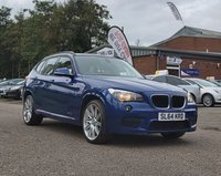 USED 2014 64 BMW X1 2.0 XDRIVE18D M SPORT 5d 141 BHP 19 INCH ALLOYS * LEATHER TRIM * PARKING AID * SERVICE RECORD
