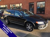"""USED 2012 12 VOLVO XC70 2.4 D5 SE LUX AWD 5DOOR AUTO 212 BHP Satellite Navigation   :   USB & AUX   :   Cruise Control   :   Phone Bluetooth Connectivity      Heated Front Seats        :        Electric Driver Seat        :        Front & Rear Parking Sensors     18"""" Alloy Wheels   :   2 Keys   :   Full Service History"""