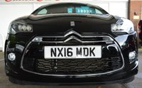 USED 2016 16 DS DS 3 1.2 PURETECH DARK LIGHT S/S EAT6 3d AUTO 109 BHP ** FULL SERVICE HISTORY **