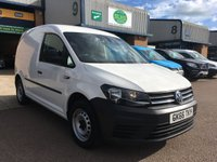 USED 2016 66 VOLKSWAGEN CADDY 2.0 C20 TDI STARTLINE 101 BHP ULEZ COMPLIANT, BLUETOOTH, E/W, FINANCE ARRANGED & 6 MONTHS WARRANTY. ULEZ Compliant & ** NEW GENUINE VOLKSWAGEN CAMBELT & WATER PUMP FITTED ** with full engine service on 05.10.19 @ 108,613 Facelift model, Parking Sensors, E/W, Bluetooth, DAB Radio, electric mirrors, Drivers airbag, Factory fitted bulk head, side loading door, ply lined, Very Good Condition, remote Central Locking, finance arranged on site & 6 months premium Autoguard warranty on every van.