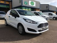 USED 2014 14 FORD FIESTA 1.6 ECONETIC TDCI 94 BHP A/C, E/W, P/SENSORS, 67,000 MILES, FINANCE ARRANGED & 6 MONTHS WARRANTY. 4 Service Stamps - last full engine service on 4.10.19 @ 67,308, A/C, E/W, Radio, parking sensors, Drivers airbag, Factory fitted bulk head, colour coded, load liner, Very Good Condition, 1 Owner, remote Central Locking, Drivers Airbag, tailgate, finance arranged on site & 6 months premium Autoguard warranty