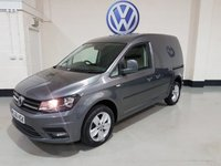 """USED 2016 66 VOLKSWAGEN CADDY 2.0 C20 TDI HIGHLINE 138 BHP 1 Owner/Rear Parking Sensors/Cruise Contro/16"""" Alloys"""