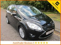 USED 2015 15 FORD C-MAX 1.6 TITANIUM TDCI 5d 114 BHP Fantastic Value Ford C-Max with Air Conditioning, Cruise Control, Rear Parking Assist, Alloy Wheels and Service History.