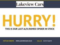 USED 2008 57 ALFA ROMEO SPIDER 2.2 JTS 2d 185 BHP