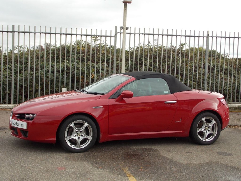 USED 2008 57 ALFA ROMEO SPIDER 2.2 JTS 2d 185 BHP ** SPECIAL FACEBOOK ONLY OFFER ** ... OWN FROM AS LITTLE AS £169 DEPOSIT AND £169 P/M (full details available on request - subject to T&C's and acceptance)