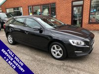 "USED 2016 66 VOLVO V60 2.0 D3 BUSINESS EDITION 5DOOR 148 BHP £20 Road Tax   :   DAB Radio   :   Sat Nav   :   USB & AUX Sockets   :   Car Hotspot / WiFi      Cruise Control / Speed Limiter   :   Bluetooth Connectivity   :   Climate Control / Air Con      Rear Parking Sensors   :   16"" Alloy Wheels   :   2 Keys   :   Full Volvo Service History"