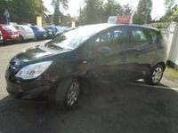USED 2010 10 VAUXHALL MERIVA 1.4 EXCLUSIV 5d 98 BHP GUARANTEED TO BEAT ANY 'WE BUY ANY CAR' VALUATION ON YOUR PART EXCHANGE