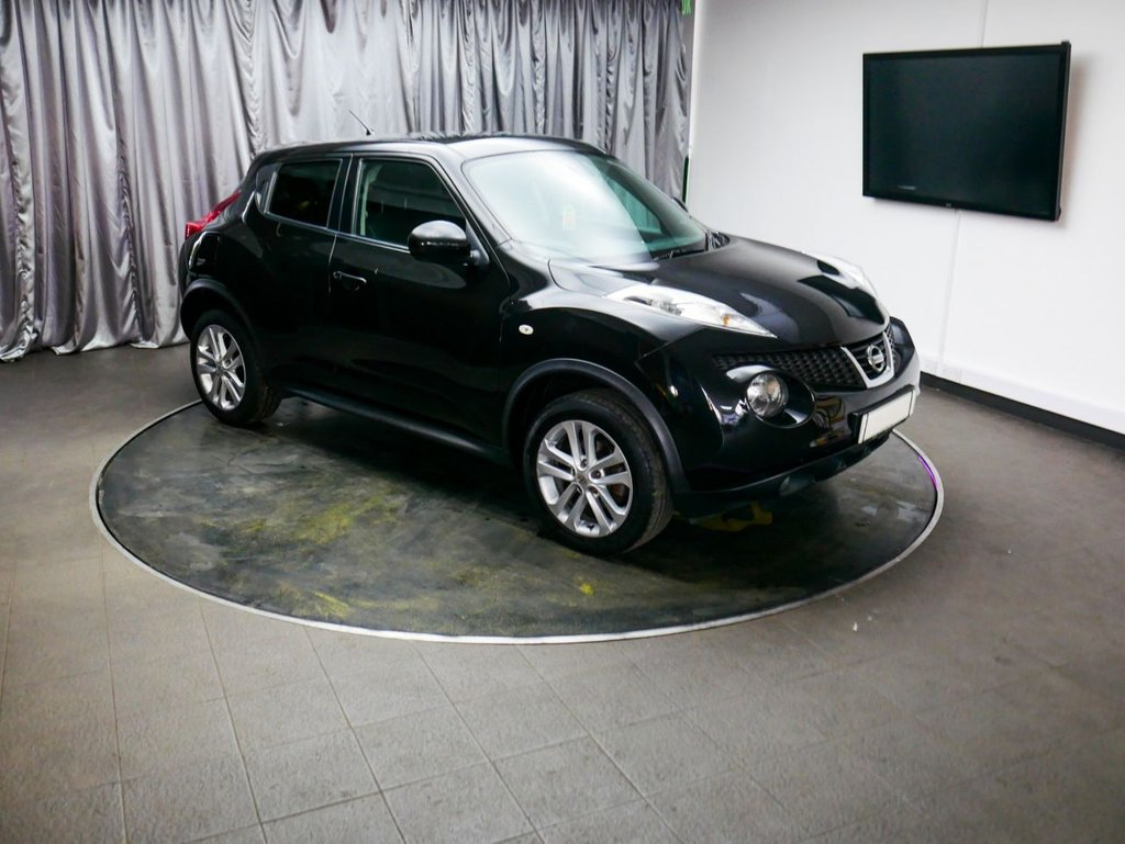 USED 2012 62 NISSAN JUKE 1.6 ACENTA PREMIUM 5d 117 BHP £0 DEPOSIT FINANCE AVAILABLE, AIR CONDITIONING, AUX INPUT, BLUETOOTH HANDS FREE CONNECTIVITY, CLIMATE CONTROL, CRUISE CONTROL, STEERING WHEEL CONTROLS, TOUCH SCREEN HEAD UNIT, TRIP COMPUTER