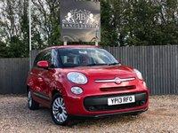 2013 FIAT 500L 1.4 POP STAR 5dr £4999.00