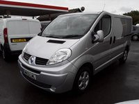 2013 RENAULT TRAFIC 2.0 SL27 SPORT DCI  115 BHP SOLD