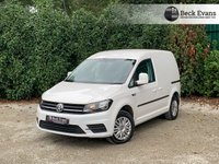 USED 2018 18 VOLKSWAGEN CADDY 2.0 C20 TDI TRENDLINE d 101 BHP AIR CONDITIONING EURO 6 COMPLIANT